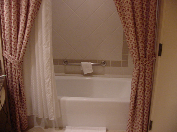 bathtub and the best shower curtain liner