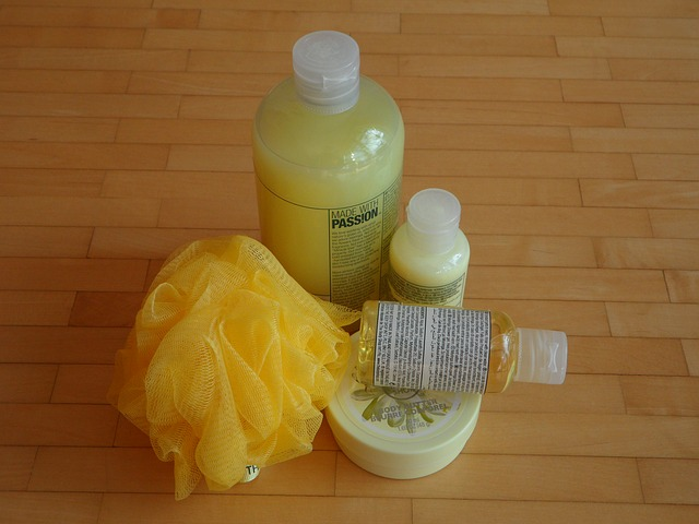 loofah and other body care products
